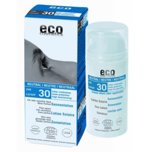 Eco Zonnebrandcrème zonder parfum en alcohol