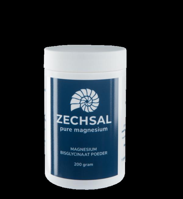 Zechsal magnesium bisglycinaat poeder, 200 g